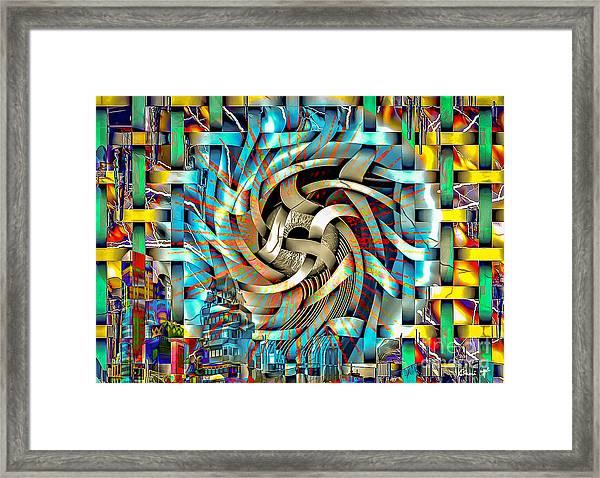 Framed Print featuring the digital art Big Brother  by Eleni Mac Synodinos