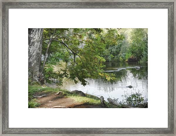 Big Chico Creek Framed Print