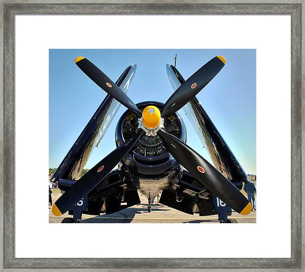 Big Prop Framed Print