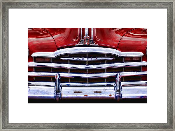Big Red Pontiac Framed Print