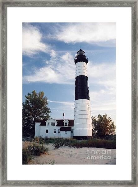 Big Sable Lighthouse Framed Print