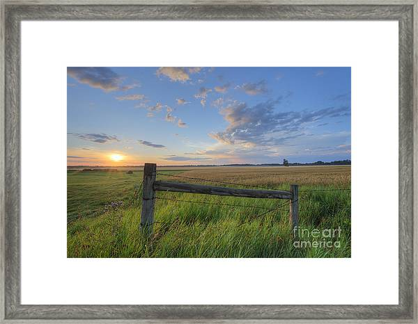 Big Sky Alberta Framed Print