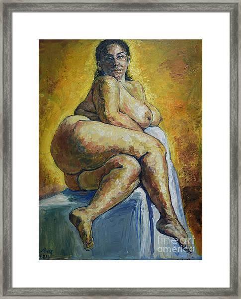 Big Woman Framed Print
