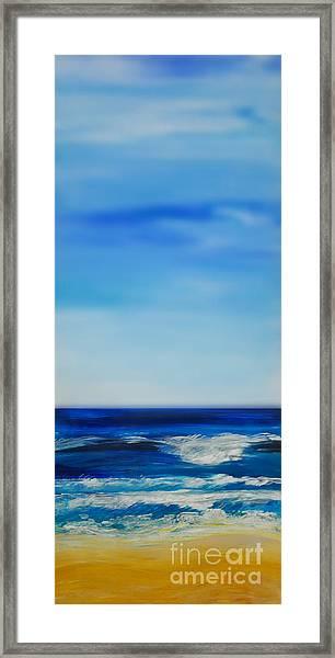 bigSky Beach Framed Print