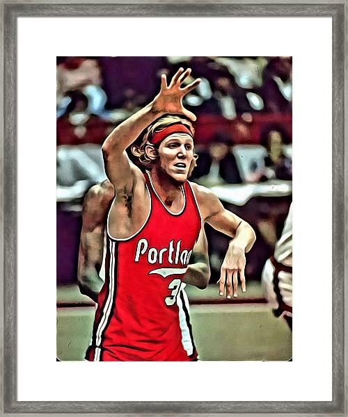 Bill Walton Framed Print