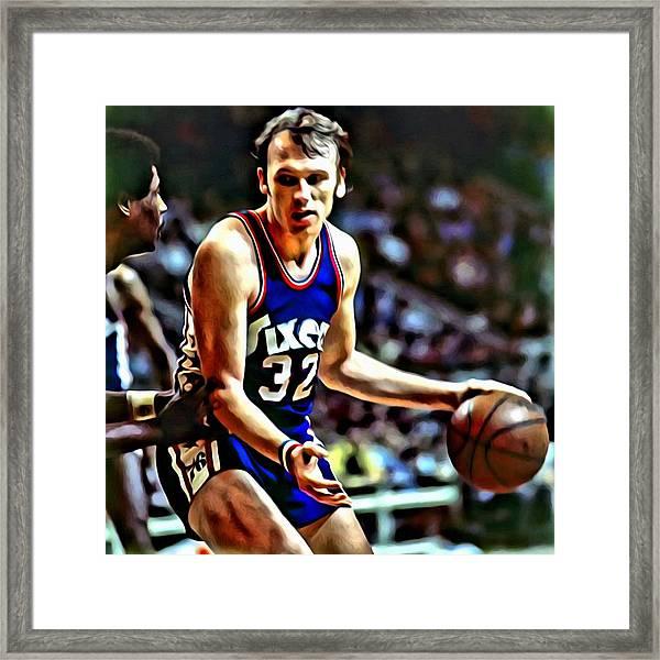Billy Cunningham Framed Print