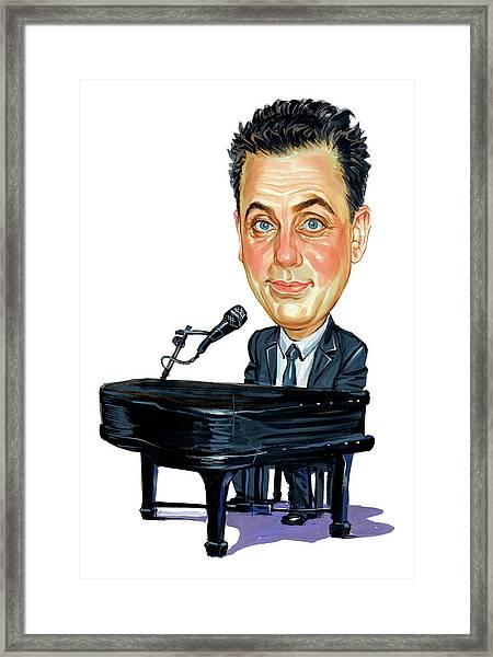 Billy Joel Framed Print