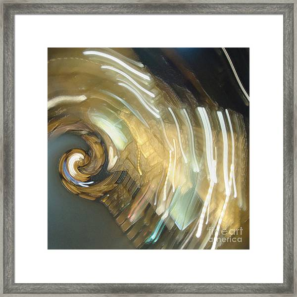 Billy Nuberg Yells Magnificently Framed Print