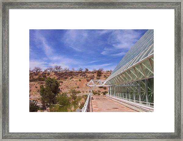 Biosphere 2 Framed Print