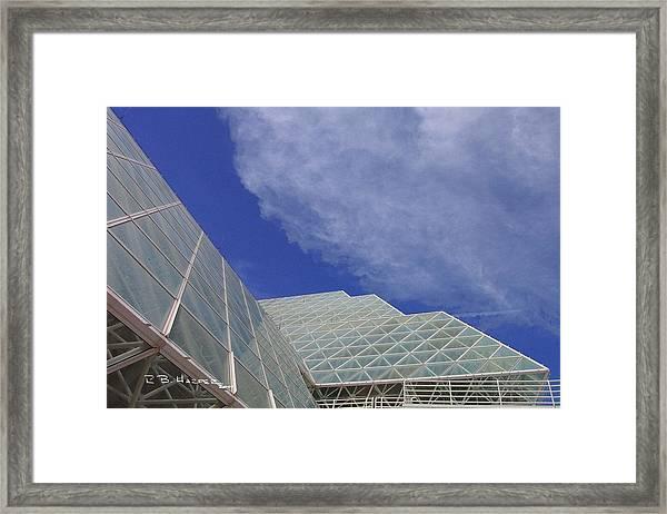 Biosphere 2 Glazing Framed Print