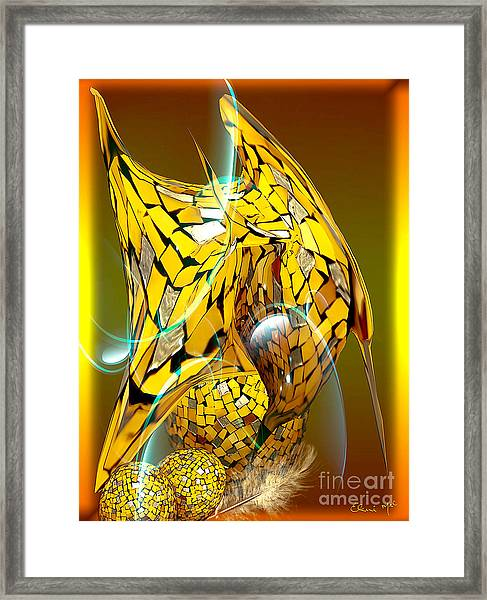 Birds Of A Feather Framed Print by Eleni Mac Synodinos