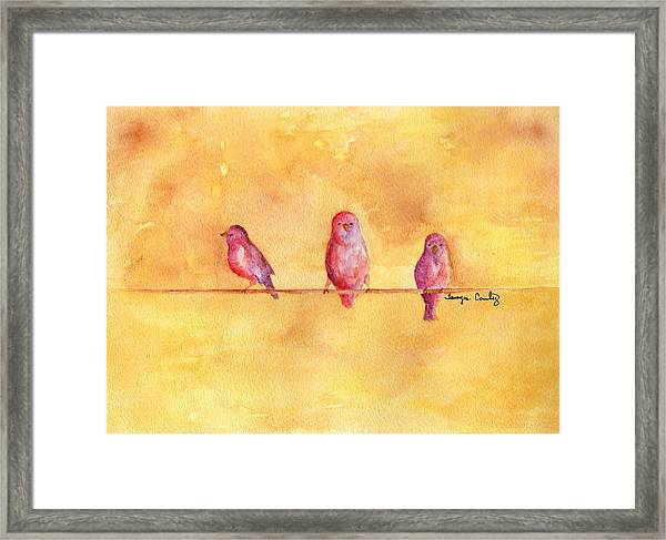 Birds Of A Feather - The Help Framed Print