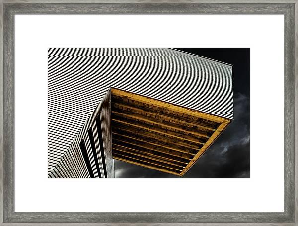 Birdwatchershouse Framed Print by Gilbert Claes