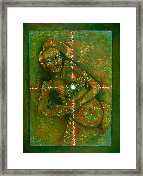 Birthing Pangs Framed Print