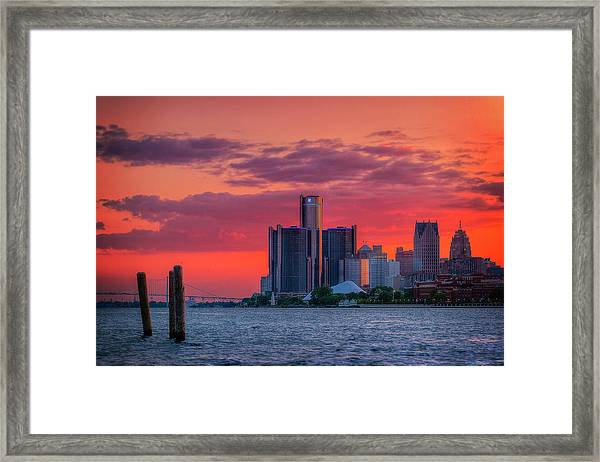Birthplace Of Techno Framed Print