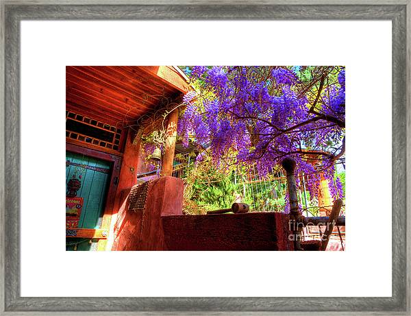 Bisbee Artist Home Framed Print