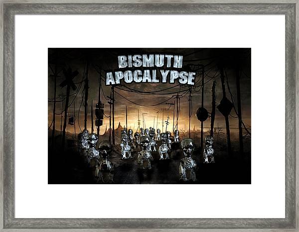 Bismuth Apocalypse Framed Print