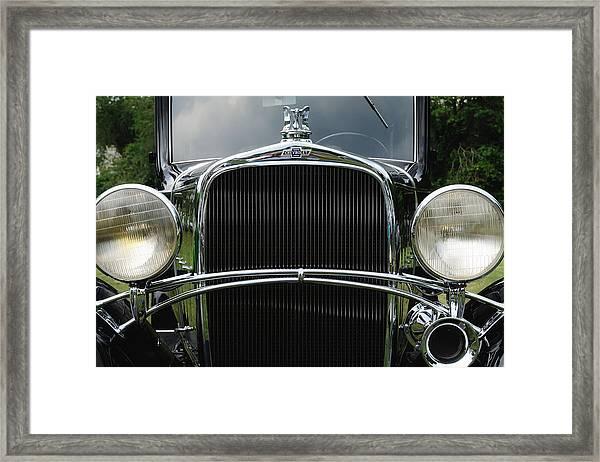 Black Chevrolet Framed Print