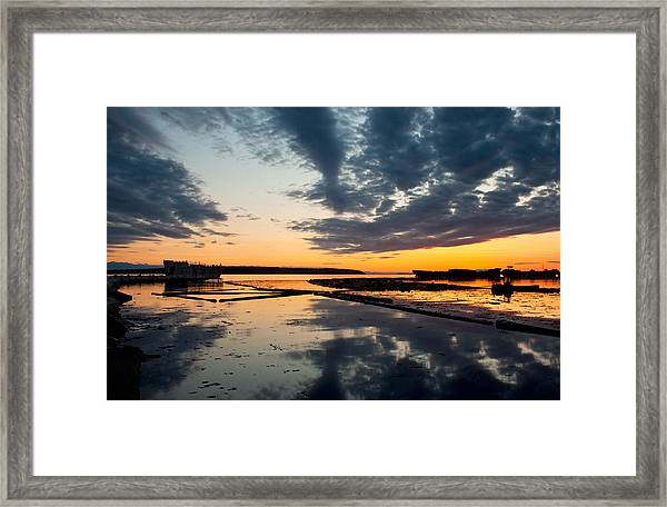 Black Cloud Hulk Framed Print