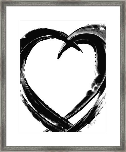 Black Magic 311 By Sharon Cummings Framed Print