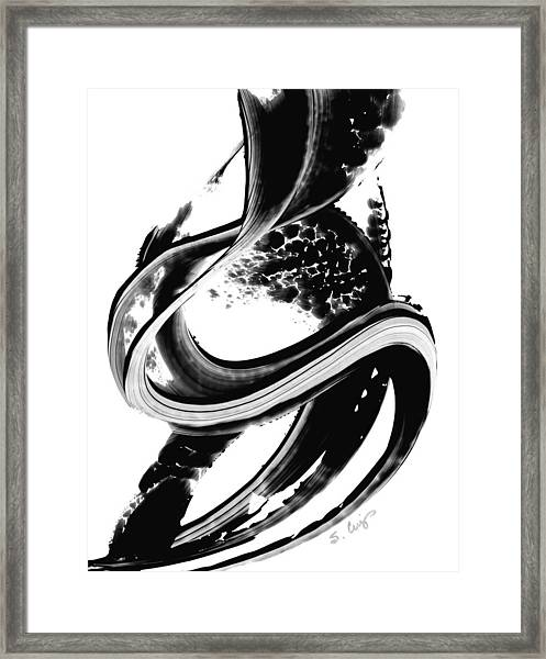 Black Magic 313 By Sharon Cummings Framed Print