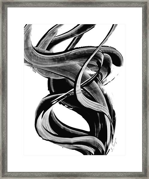 Black Magic 314 By Sharon Cummings Framed Print