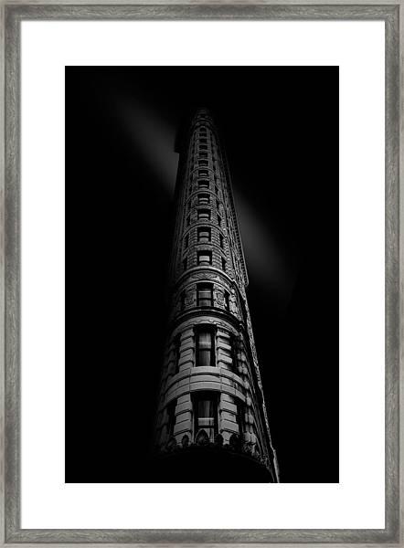 Black Noir Framed Print