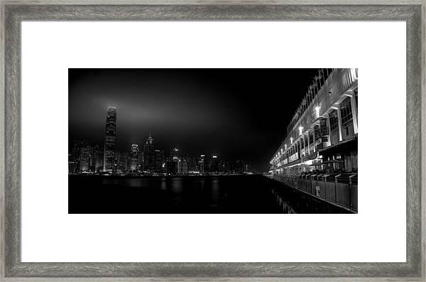 Black Orient Framed Print