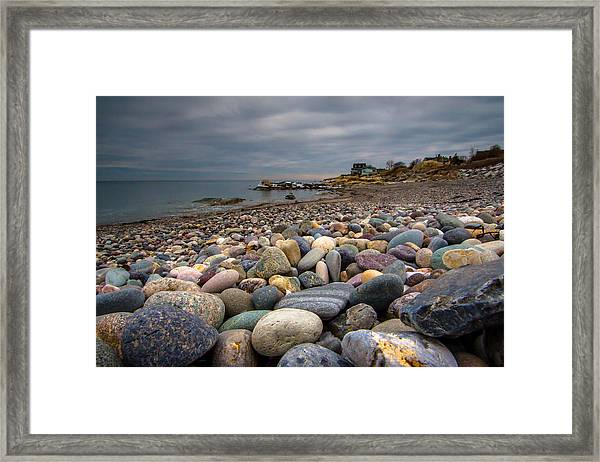 Black Rock Beach Framed Print