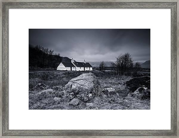Black Rock Cottage - Glencoe Framed Print