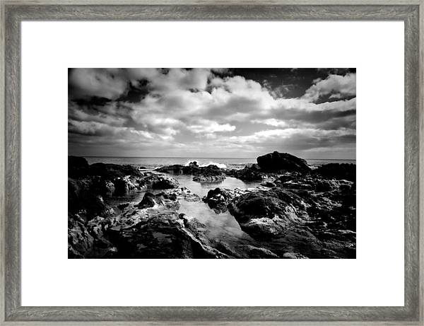 Black Rocks 1 Framed Print