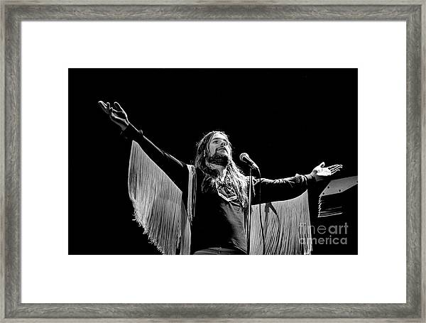 Black Sabbath Ozzy 1977 #2 Framed Print
