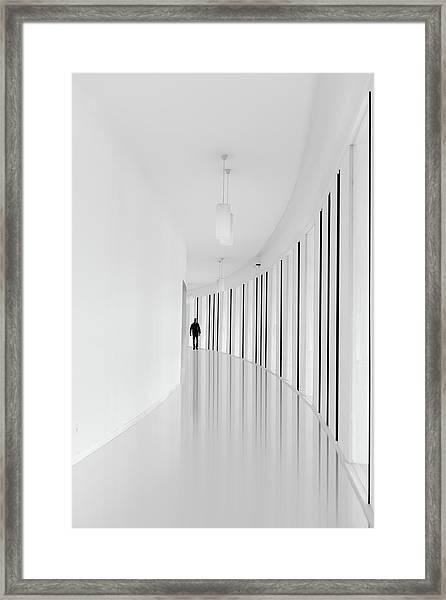 Black Strips Framed Print by Jo?o Castro