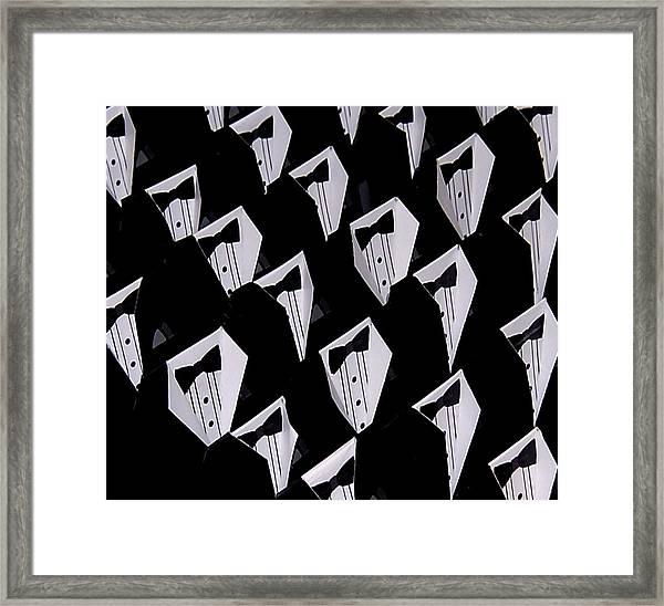 Black Tie Affair Framed Print