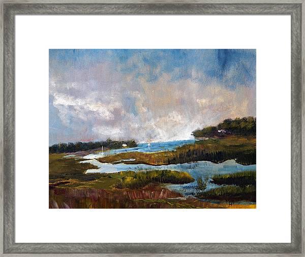 Blackfish Creek Framed Print