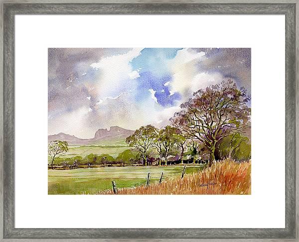 Blackshaw Moor Framed Print