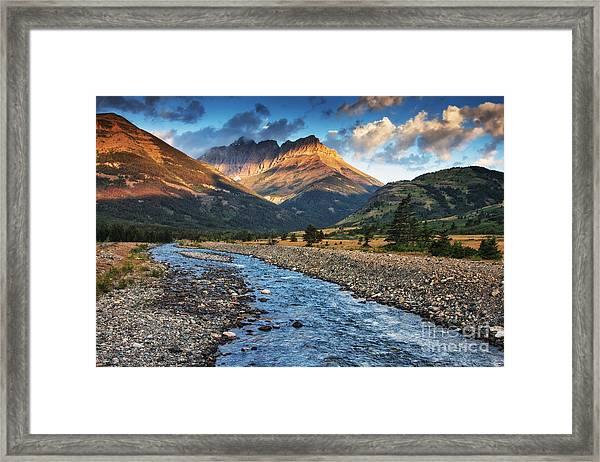 Blakiston Creek Framed Print