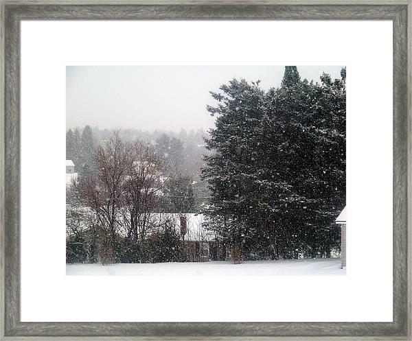Bleak Winter Framed Print