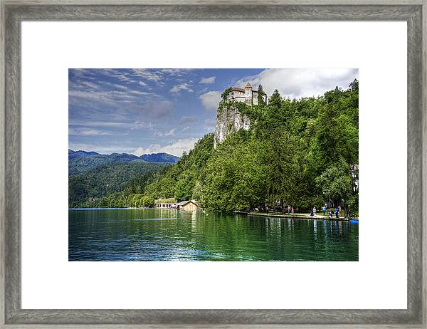 Bled Castle Framed Print