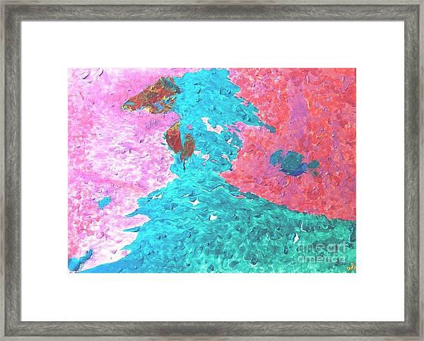 Blissful Love Framed Print