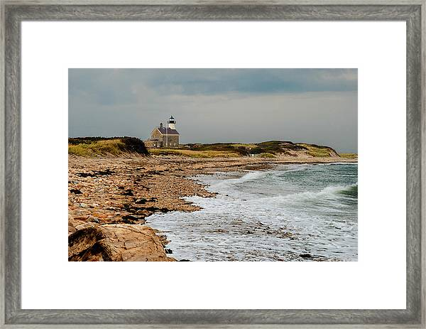 Block Island North Lighthouse  Framed Print