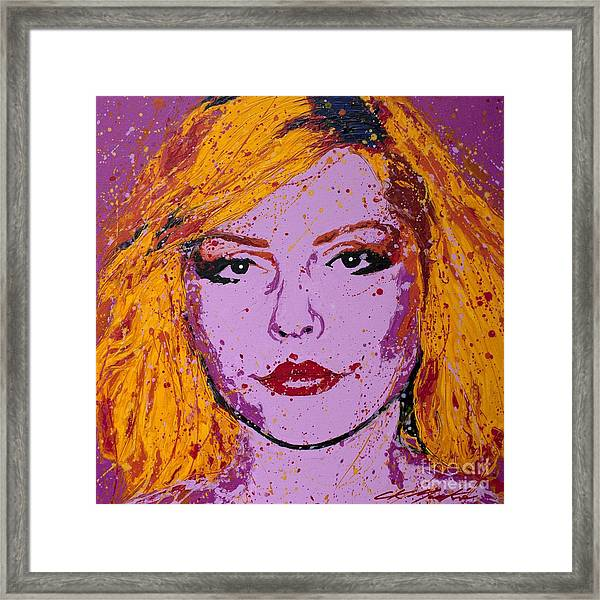 Blondie Framed Print