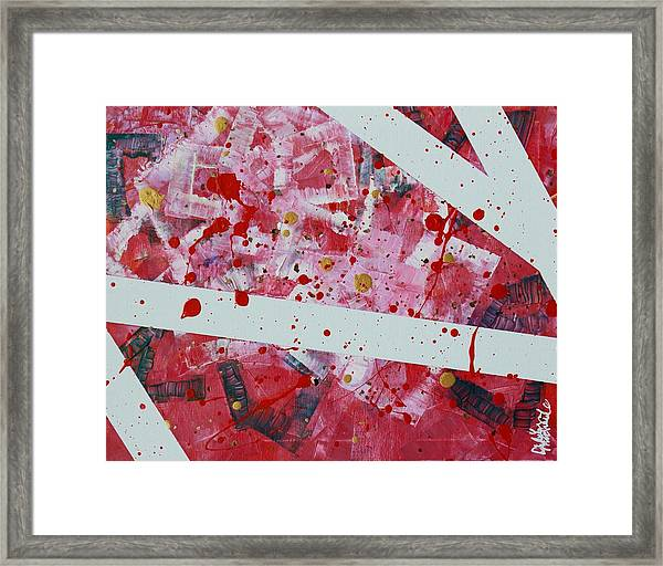 Blood On The Leaves Framed Print