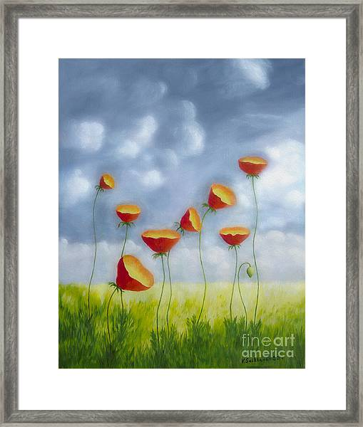 Blooming Summer Framed Print