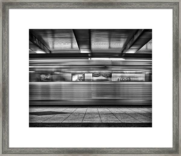 Bloor Framed Print