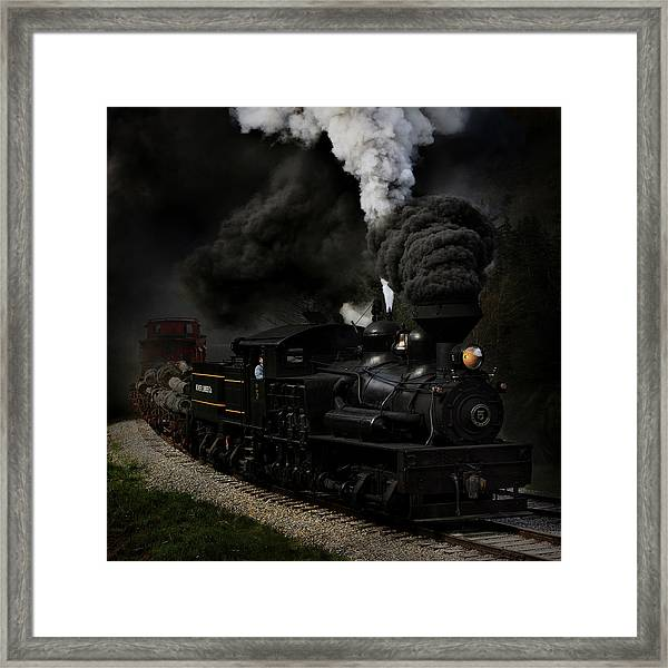 Blow That Whistle Framed Print
