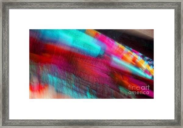 Blowin Framed Print