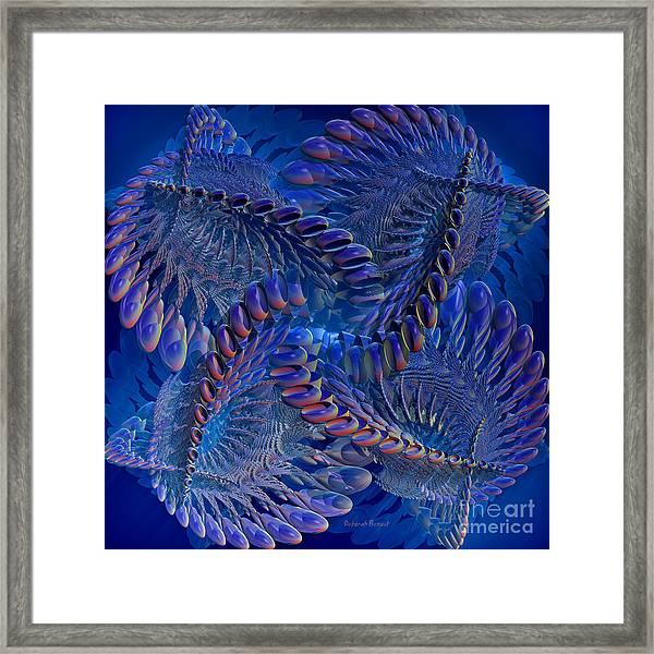 Blue 3 Framed Print