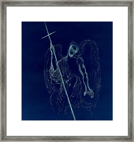 Blue Angel Series Framed Print