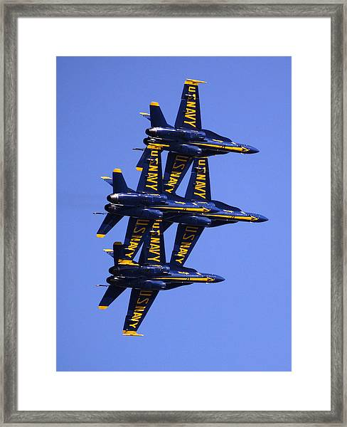 Blue Angels II Framed Print